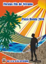 FIESTAS FIN DE VERANO PLAYA HONDA 2010