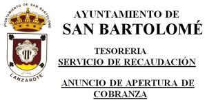 ANUNCIO DE APERTURA DE COBRANZA