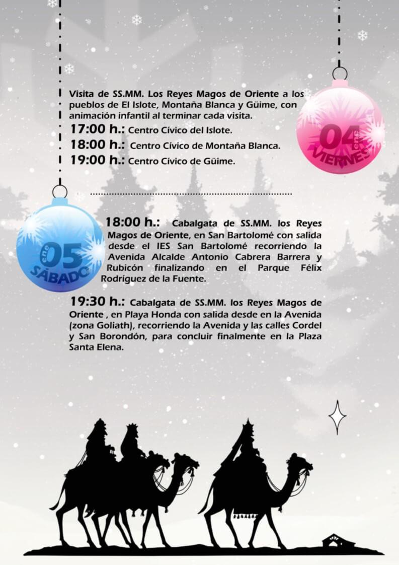 Los Reyes Magos Visitaran El Municipio Los Dias 4 Y 5 De Enero